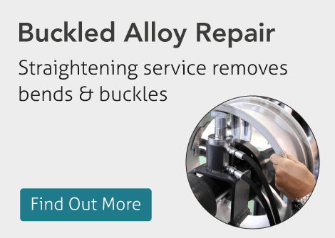 Buckled Alloy Wheel Repair Manchester