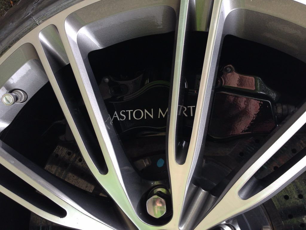 Aston Martin diamond cut repair