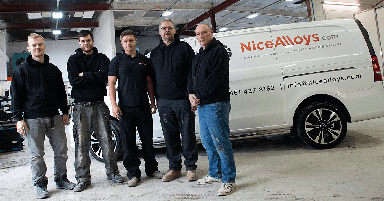 Nice Alloys Team - Alloy Wheel Refurbishment Manchster
