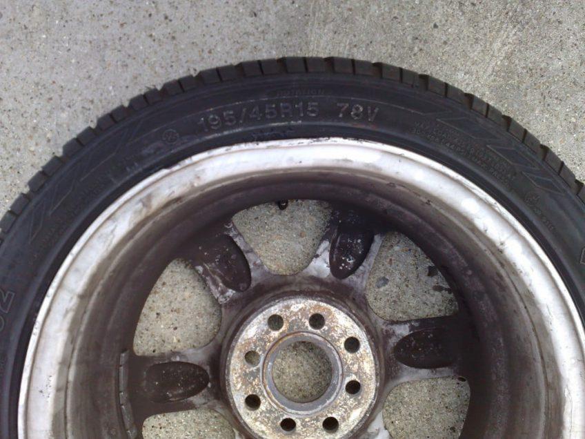 Bent alloy wheel symptoms